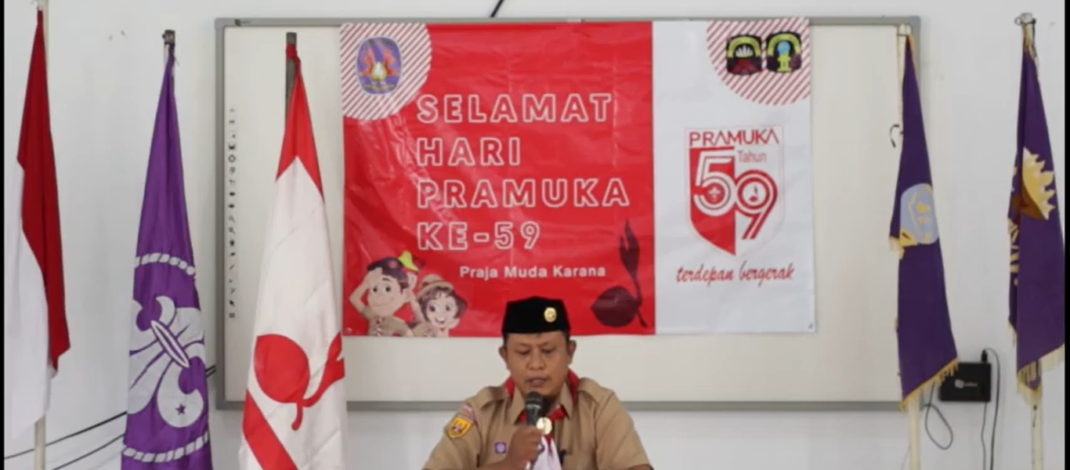 Video Peringatan Hut Pramuka ke-59